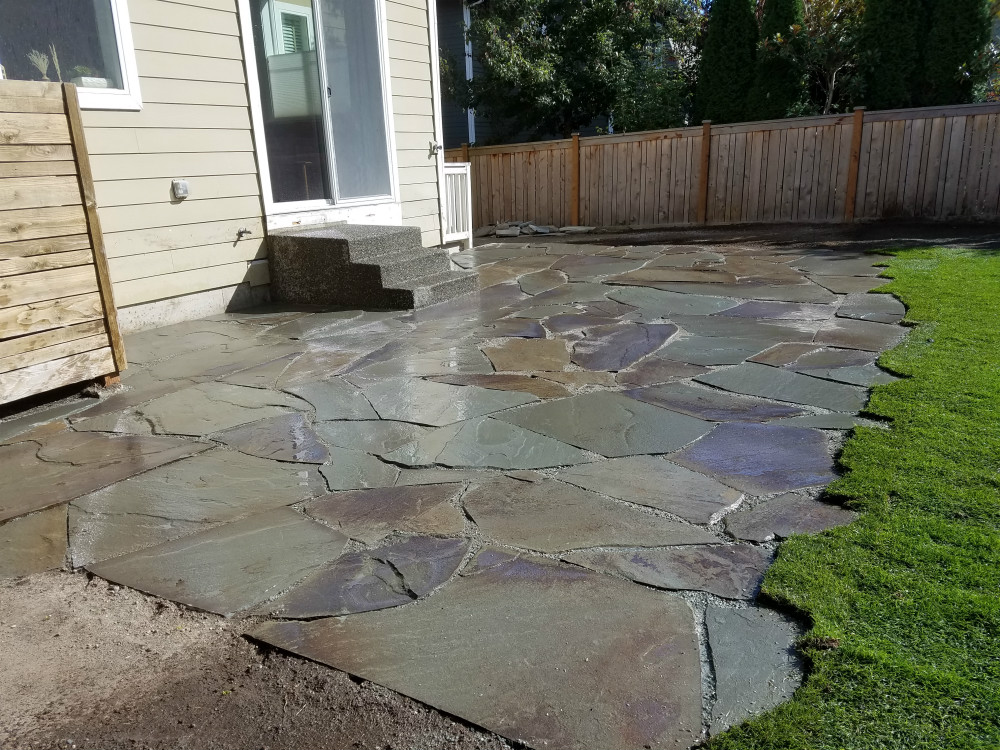 Seattle landscaping stone patio